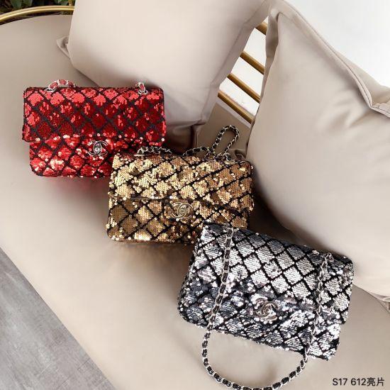 Radiant Sequin Women Bag, Luxury