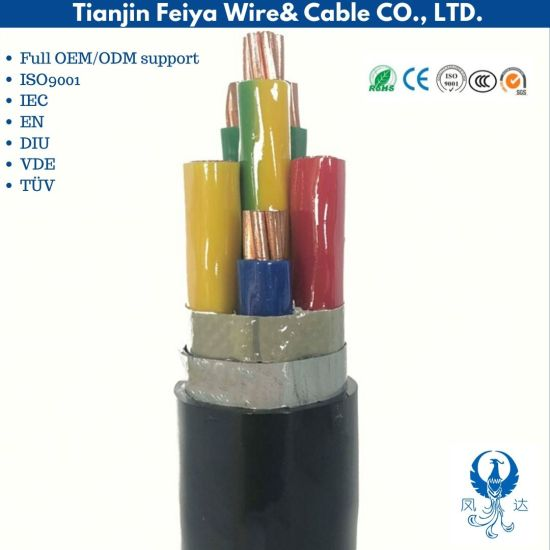 3 Core Electric Wire 0.6/1kv Underground Power Cable Nyy/ N2xy/ Nayy/ Na2xy Cables