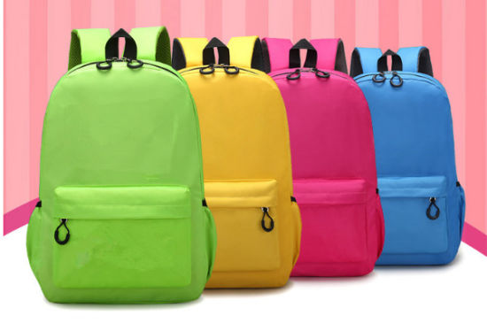 Candy Colors Bag Students′ Shoulder Backpack Children′s Schoolbag pictures & photos