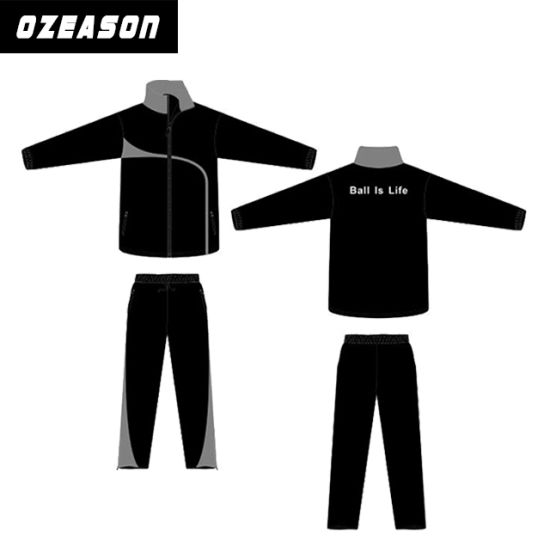 Wholesale OEM Custom Lastet Design Mens Polyester Plain Tracksuit pictures    photos d37d1262cfc8