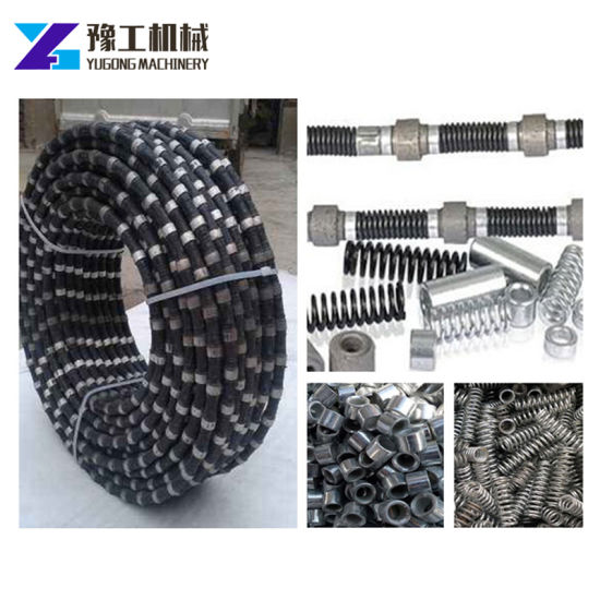 Diamond Wire Saw Rope for Construction Concrete Cutting