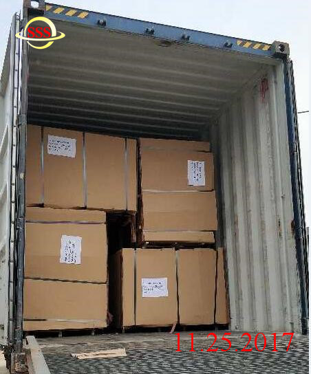 28mm Thickness of Marine Plywood Flooring for Container Depot Service and Parts