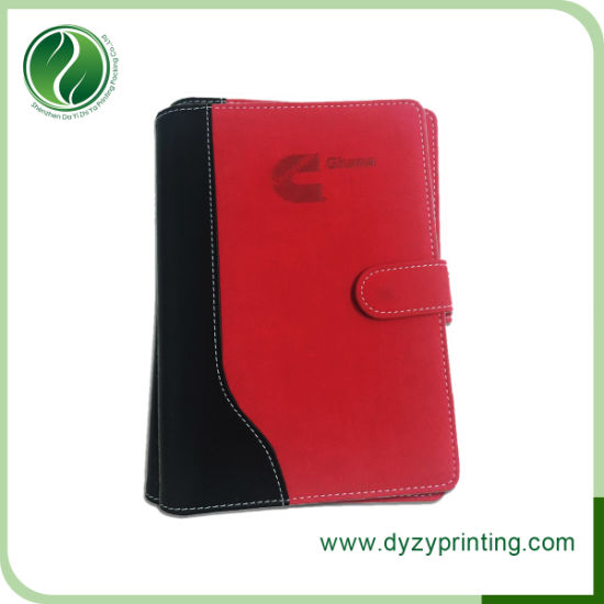 PU Leather Notebook Printing for Office Supply, School Supply pictures & photos