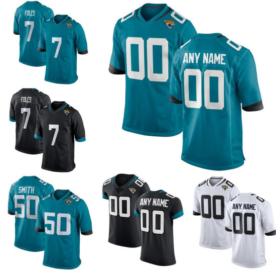 d7e5bab14e8 Wholesale Custom Nick Foles Blake Bortles Jalen Ramsey Football Jersey