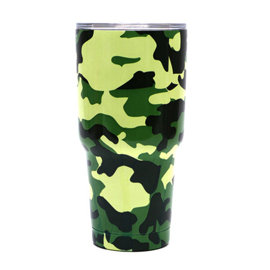 Yeti 30oz Camouflage Pattern Stainless Steel Insulated Vacuum Beer Cup