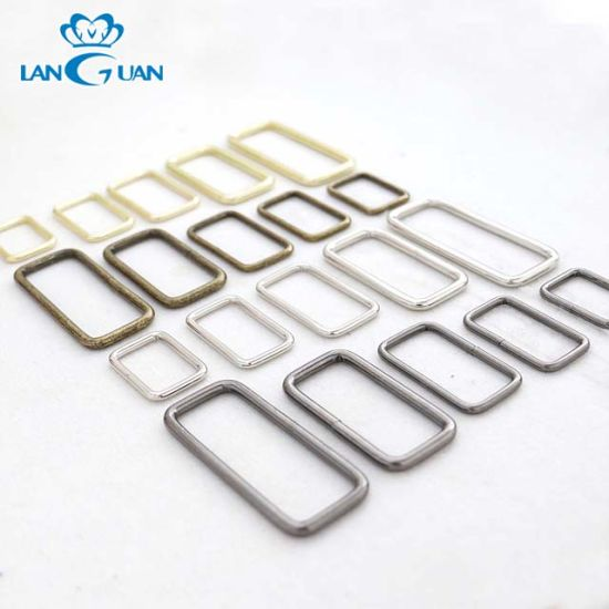2019 New Style Factory Profession Product Zinc Alloy Metal Square Belt Buckle