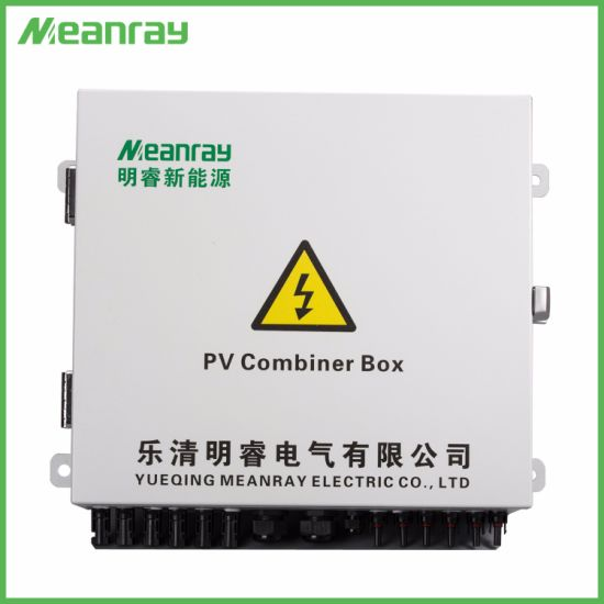 Combiner Box PV Arrays 6 in 1 out DC Solar for Wide Voltage Range System