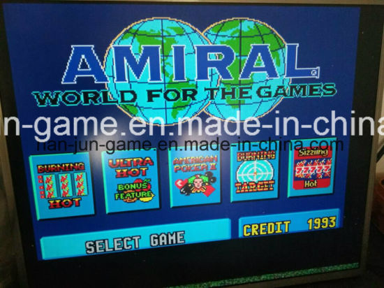 Multiple Skill Slot Game Machine Video Arcade Game Console Cabinet pictures & photos