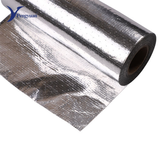 Aluminum Foil Woven Fabric Weaved Cloth, Thermal Insulation Waterproof Material