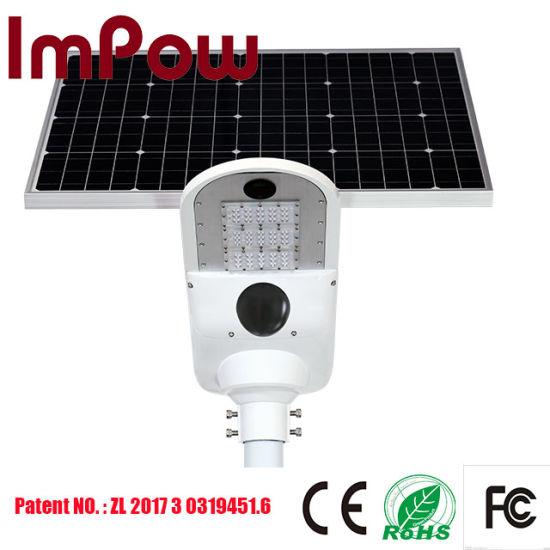 40W High Efficiency 4G CCTV Camera+GPS LED Solar Street Light
