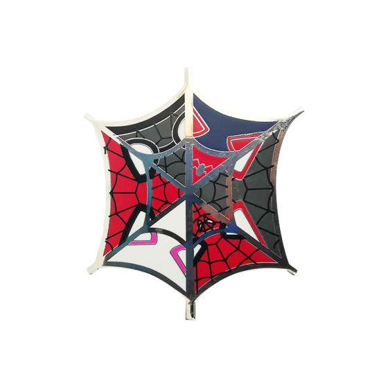Enamel Pin Design Screen Printing Metal Spiderman Cartoon Pin