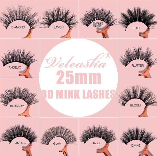 Premium Quality 3D Mink Lashes Customized Boxes Wholesale Price False Eyelashes
