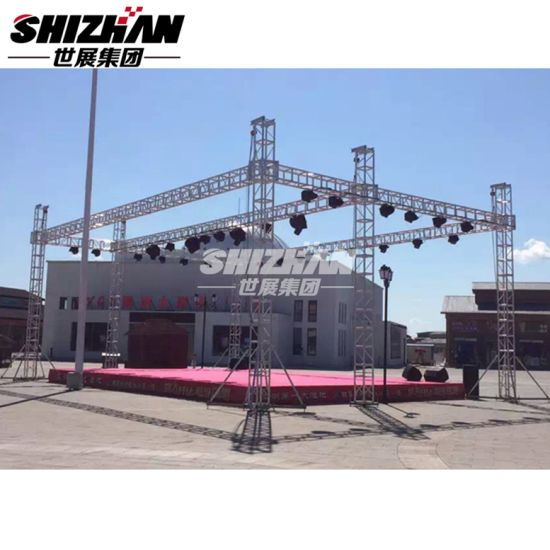 Universal Aluminum Mini Lighting Banner Truss for Hot Sale