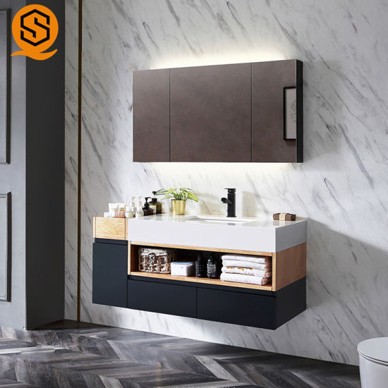 Commercial Solid Surface Marble Vanity Top for Hotel