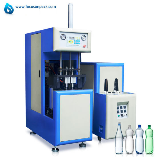 Double Station Stretch Pet Bottle Blow Moulding Machine Plastic Bottle Blowing Making Machine Plastic Molding Machine
