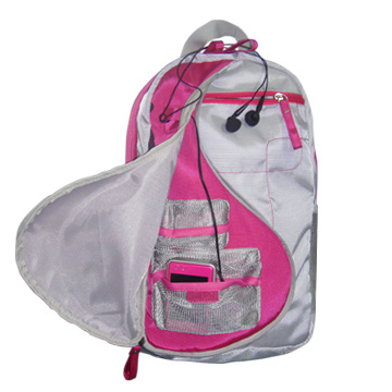 Leisure Outdoor Polyester School Bag with Multi Pockets pictures & photos