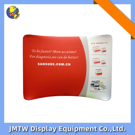 Aluminum Tube Portable Backdrop Banner Display Stand for Event with Tension Fabric