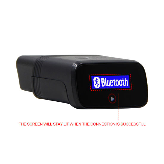 Car Accessories Bluetooth 4 0 for Android / Ios / Windows Car OBD2  Diagnostic Scanner Same as Elm327 V1 5 Bluetooth with Hud