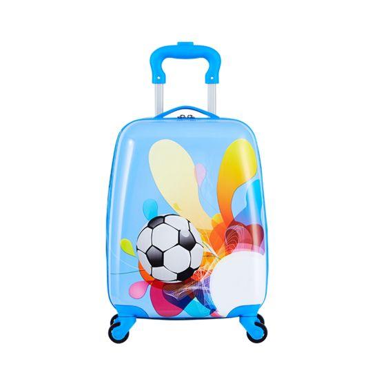 Factory Price Kids Luggage Set Cartoon Printing Travelling Spinner Children Trolley Bag Suitcase