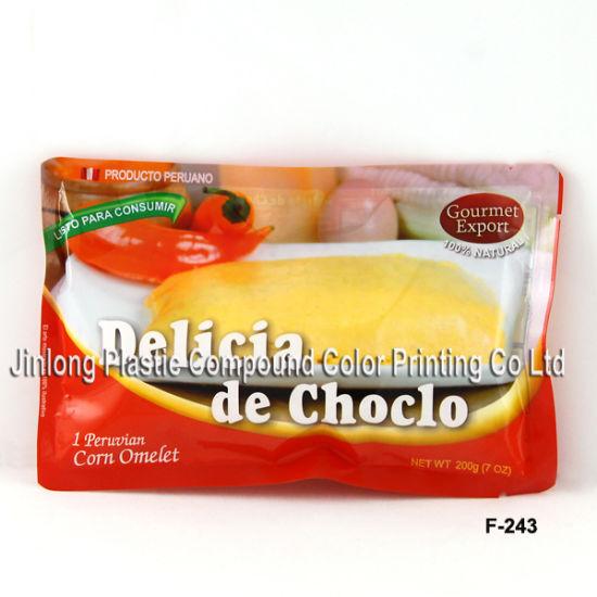 Vegetable Plastic Retort Pouch ISO90012008 with Custom Logo