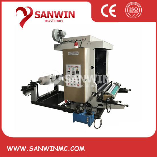 Flexo Printing Machine to Print Plastic Film PP PE Pet HDPE LDPE