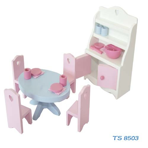 Roll Play Kid Doll House Mini Furniture pictures & photos