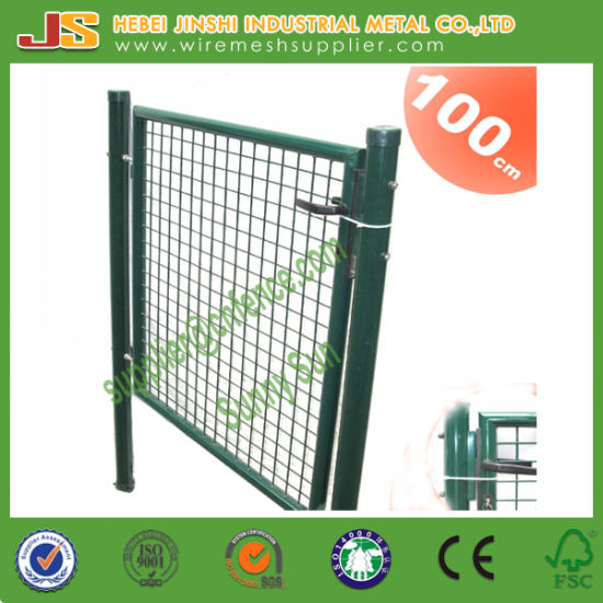 Welded Wire Mesh with Frame and Lock German Decoration Euro Garden Gate pictures & photos