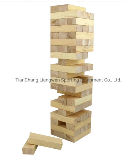 Wholesale Giant Tumbling Blocks Building-Blocks for Outdoor Classic Game pictures & photos