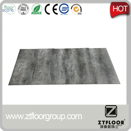 Compeive Price 0 3mm Wearlayer 4mm Thickness Luxury Vinyl Tile Glueless For Residential