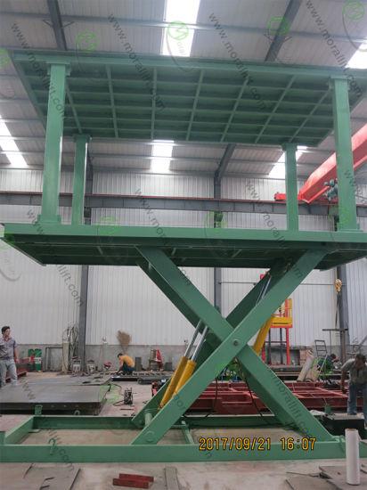 hydraulic system elevator type scissor com mobile yuanwenjun parking automated garage car