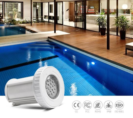 RGB 3W Mini LED Swimming Pool Light