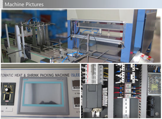 Automatic Sleeve Big Bottles Thermal Shrinkage Packaging Machine pictures & photos