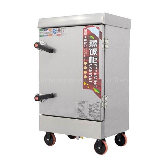Automatic Stainless Steel Cabinet Restaurant Kitchen Equipment Commercial Rice Cooker Steamer