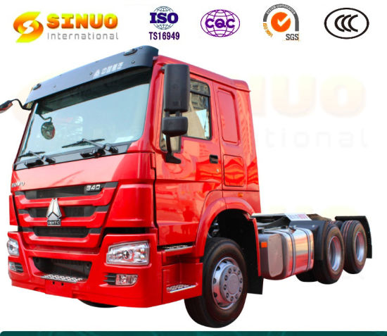 Used Sinotruk HOWO 10X Wheels Tractor Truck 371HP 375 6X4 China Heavy Duty Truck Trailer Head Tractor Head Truck Hot Sale Africa