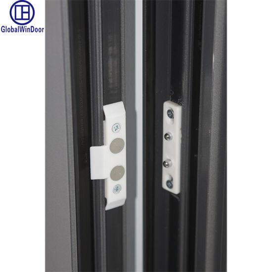 French Iron Sliding Folding Metal Door pictures & photos