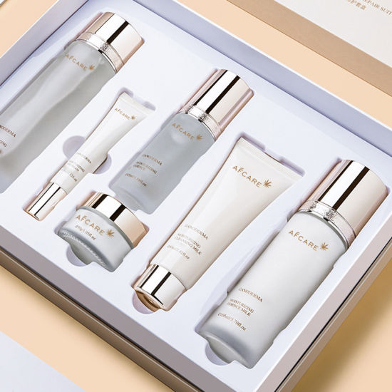 OEM Private Label Whitening and Anti-Wrinkle Skincare Set for All Skin Types