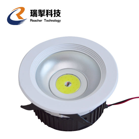 Square LED Downlight IP44 8inch 36W LED Down Light 4320lm