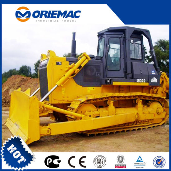 China New Shantui SD22 220HP Cralwer Bulldozer with Single Shank Ripper pictures & photos