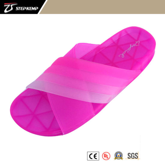 Colorful Lady Fashion Jelly Slipper 5294