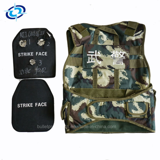 Factory Price Military Camouflage Bullet Proof Vest Body Armor with Hard Insert Plate