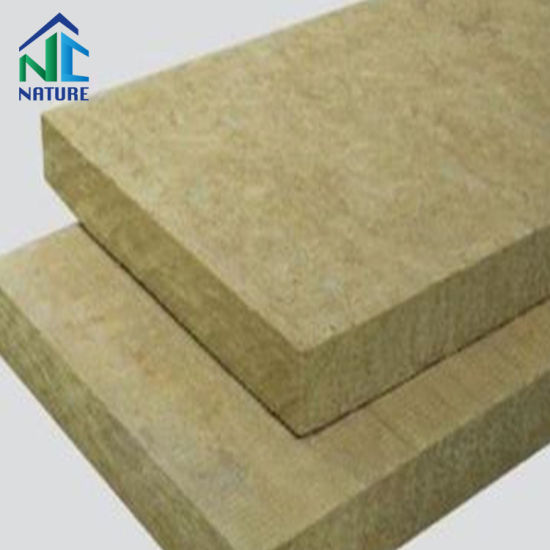 Mineral Wool Board, Heat Resistant Materials, Density 50-170 Kg/M3 Size Customized Rock Wool Insulation Board pictures & photos