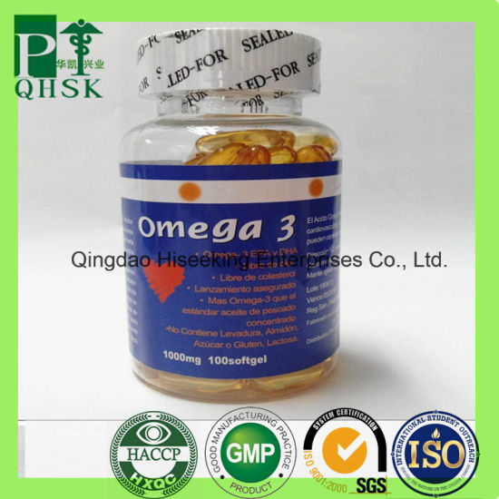 OEM Wholesale Fish Oil Softgel Capsule Omega 3 Softgel pictures & photos