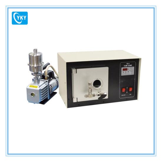 Economy Low Price Small Plasma Cleaning Machine with Vacuum Pump