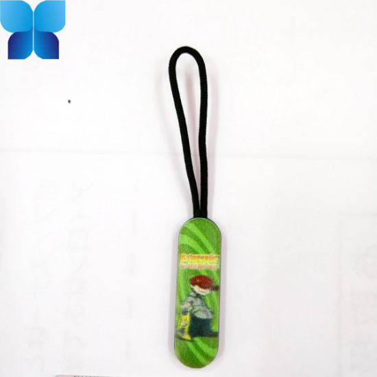 Customized Cotton Zipper Puller for Sports Clothing
