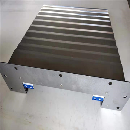 High Quality German Craft High-Frequency Welding Bellows with Stainlesssteel Plate