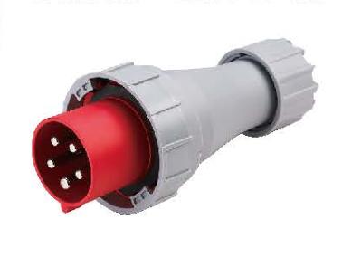 Industrial Plug 5p, 63A, 125A, Waterproof IP67 IEC Plug Fnp2-0335f
