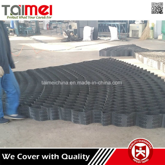 HDPE Geocell Slope Erosion Control / Slope Stabilization Fabric pictures & photos