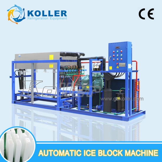 New Technical Aluminium Plate Block Ice Machine with Air Cooling System (6 tons/24h) pictures & photos