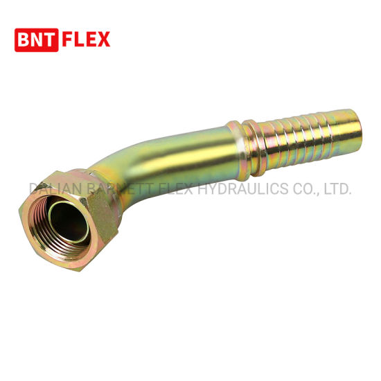 Steel Wire Inserted 74 Degree Cone Jic Hose Fitting/Brake Hose Fittings