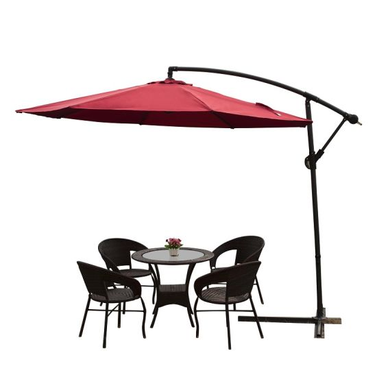 Sun Garden Banana Umbrella for Outdoor Use pictures & photos